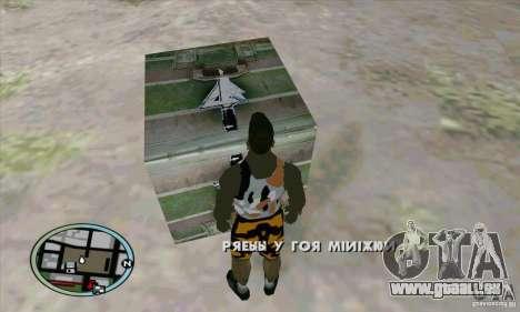 Care Package from MW2 pour GTA San Andreas quatrième écran