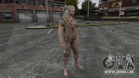 Geralt von Riva v6 für GTA 4 fünften Screenshot