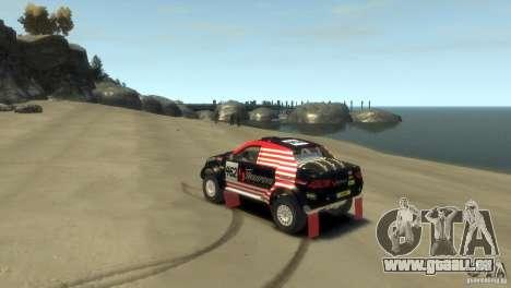 Mitsubishi L200 Rally pour GTA 4 est une gauche