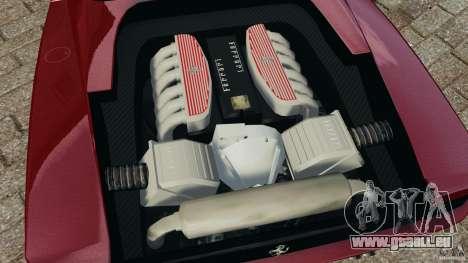 Ferrari Testarossa Spider custom v1.0 pour GTA 4 est une vue de l'intérieur