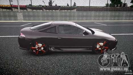 Mitsubishi Eclipse Tuning 1999 pour GTA 4 Vue arrière