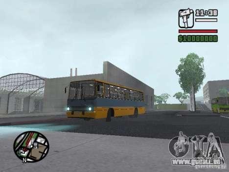 Ikarus 263 pour GTA San Andreas laissé vue