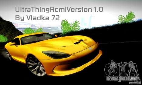 UltraThingRcm v 1.0 für GTA San Andreas