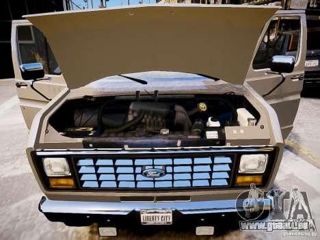 Ford E-150 1979 Short Version für GTA 4 Seitenansicht