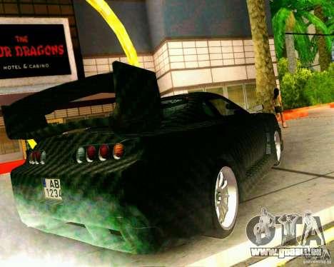 Toyota Supra Carbon für GTA San Andreas linke Ansicht