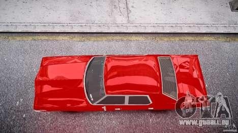 Dodge Monaco 1974 stok rims pour GTA 4 est un droit