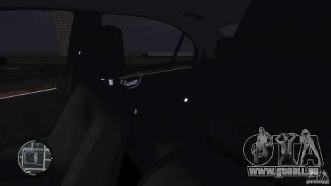 Mercedes-Benz S65 AMG für GTA 4 Unteransicht