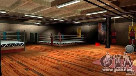 Salle de gym pour GTA San Andreas