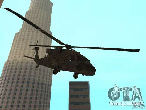 UH-60 Black Hawk pour GTA San Andreas