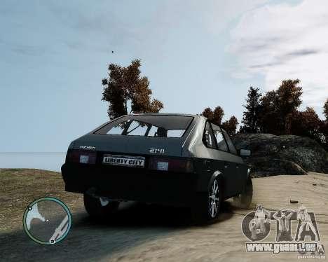 Moskvitch AZLK 2141 pour GTA 4 est une gauche