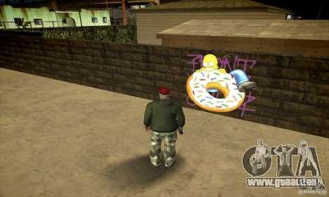 Simpson Graffiti Pack v2 für GTA San Andreas fünften Screenshot