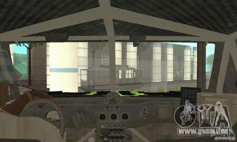 Hummer H3 Baja Rally Truck für GTA San Andreas Rückansicht