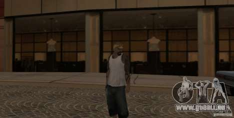 Skin Pack Vagos pour GTA San Andreas troisième écran