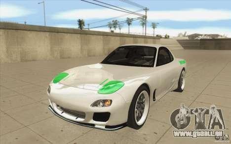 Mazda FD3S - Ebisu Style pour GTA San Andreas