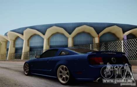 Ford Mustang Twin Turbo pour GTA San Andreas sur la vue arrière gauche
