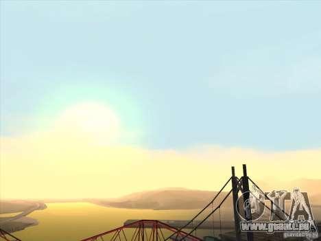 Un réaliste Timecyc pour GTA San Andreas deuxième écran