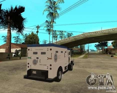 NSTOCKADE de GTA IV pour GTA San Andreas sur la vue arrière gauche