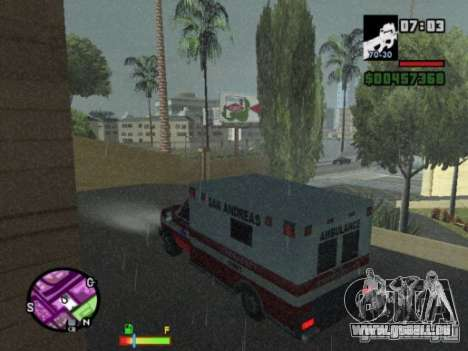 Auto-Repair pour GTA San Andreas quatrième écran