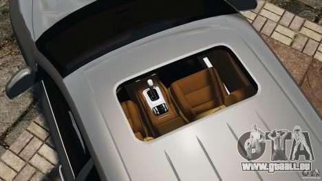 Porsche Cayenne Turbo 2003 für GTA 4 Unteransicht