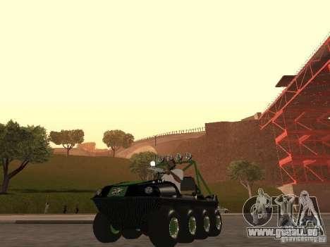 Véhicule tout-terrain Argo Avenger pour GTA San Andreas