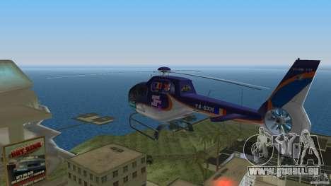 Eurocopter Ec-120 Colibri für GTA Vice City Rückansicht