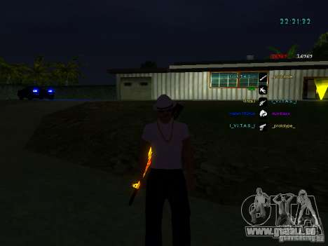 Nouveaux skins La Coza Nostry pour GTA: SA pour GTA San Andreas troisième écran