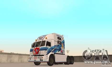 KAMAZ-54112 Secrétariat pour GTA San Andreas laissé vue