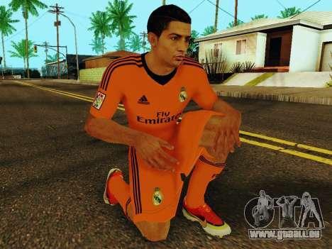 Cristiano Ronaldo v3 pour GTA San Andreas cinquième écran