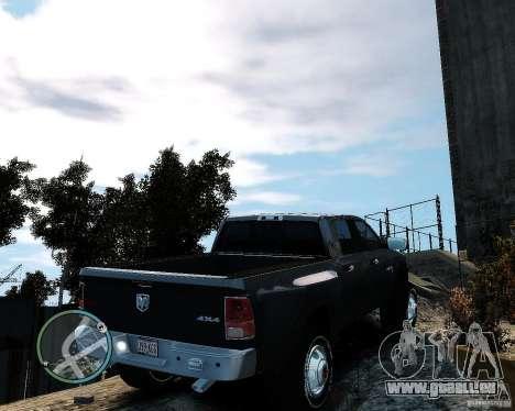 Dodge Ram 3500 Stock pour GTA 4 Vue arrière de la gauche
