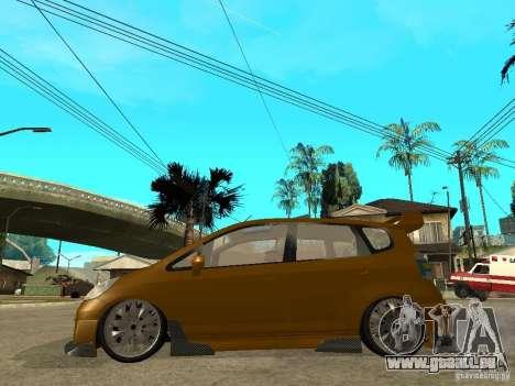 Honda Jazz Sport pour GTA San Andreas laissé vue
