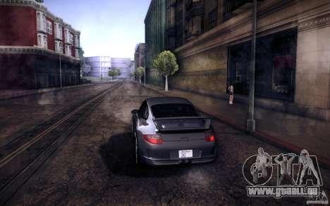 Porsche 911 GT3 (997) 2007 für GTA San Andreas zurück linke Ansicht