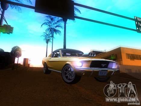 Ford Mustang 1967 GT Tuned pour GTA San Andreas