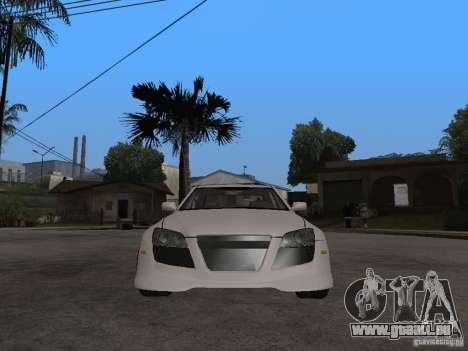 Lexus IS300 NFS Carbon pour GTA San Andreas vue de droite