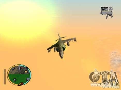 GTA IV HUD v2 by shama123 pour GTA San Andreas deuxième écran