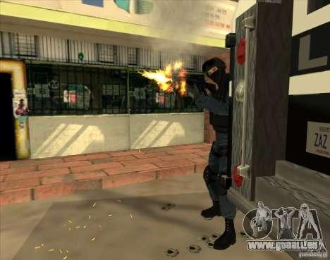 Los Angeles S.W.A.T. Skin für GTA San Andreas dritten Screenshot