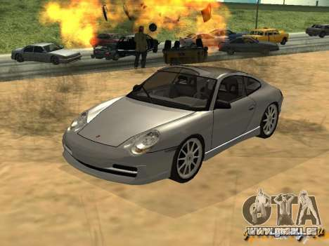 Porsche 911 TARGA für GTA San Andreas linke Ansicht