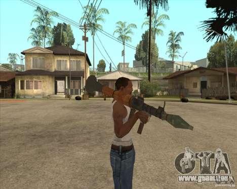 Die RPG-7 für GTA San Andreas dritten Screenshot