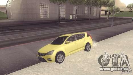 Kia Ceed pour GTA San Andreas vue de droite