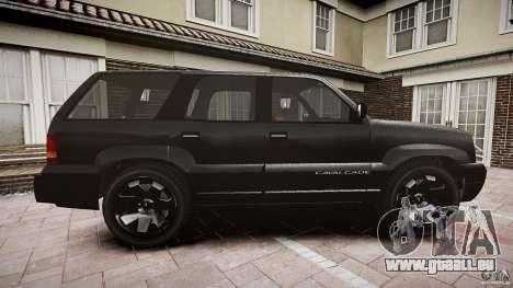 Cavalcade FBI car für GTA 4 Innenansicht