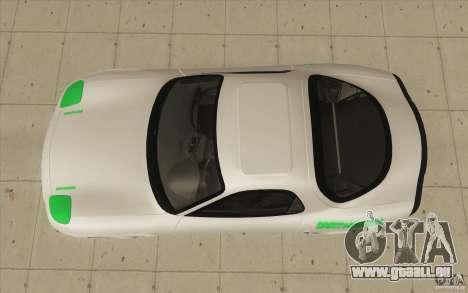 Mazda FD3S - Ebisu Style pour GTA San Andreas vue de droite