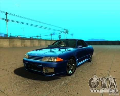 Nissan Skyline GT-R R32 1993 Tunable pour GTA San Andreas vue intérieure