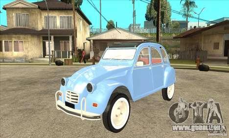 Citroen 2CV pour GTA San Andreas
