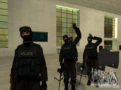 Aide Swat pour GTA San Andreas huitième écran