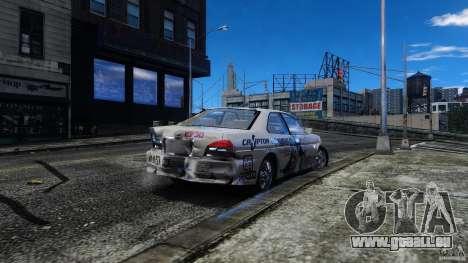 Nissan Laurel GC35 Itasha pour GTA 4 est une vue de l'intérieur