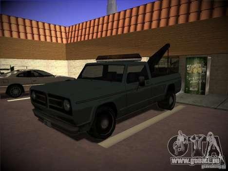 Camion de remorquage Sadler pour GTA San Andreas