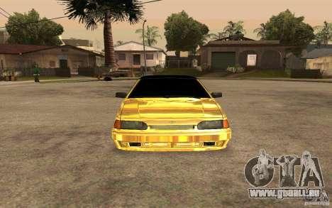 ВАЗ 2114-GOLD für GTA San Andreas rechten Ansicht