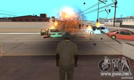 Hot adrenaline effects v1.0 für GTA San Andreas her Screenshot