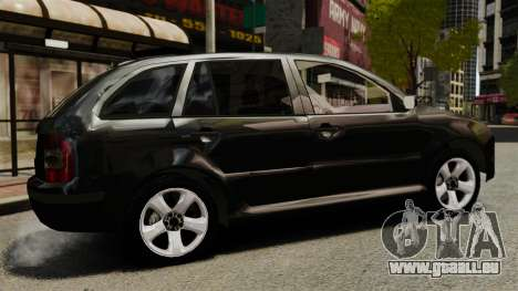 Skoda Fabia Combi Unmarked ELS pour GTA 4 est une gauche