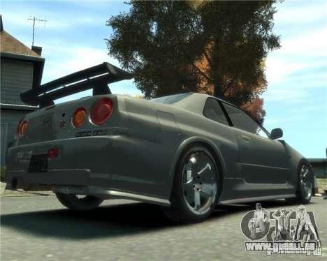 Nissan Skyline GT-R34 Nismo pour GTA 4 est une gauche