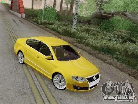 Volkswagen Magotan 2011 für GTA San Andreas obere Ansicht